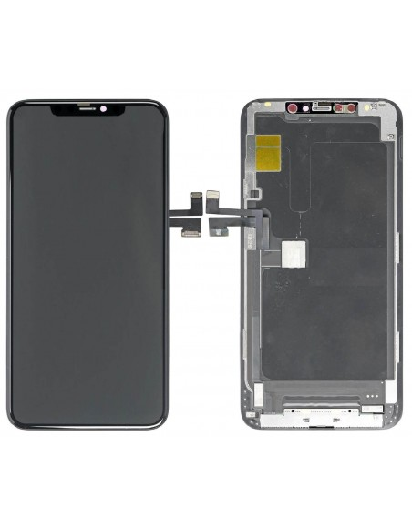iPhone 11 Pro Max LCD Screen and Digitizer Assembly - Black Apple - 1
