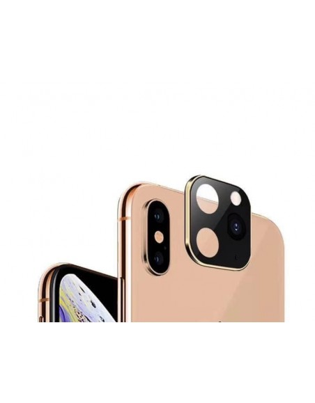 Modified Camera Glass Lens For iPhone X/XS/XS MAX to iPhone 11/PRO/PRO MAX​ - Gold  - 1