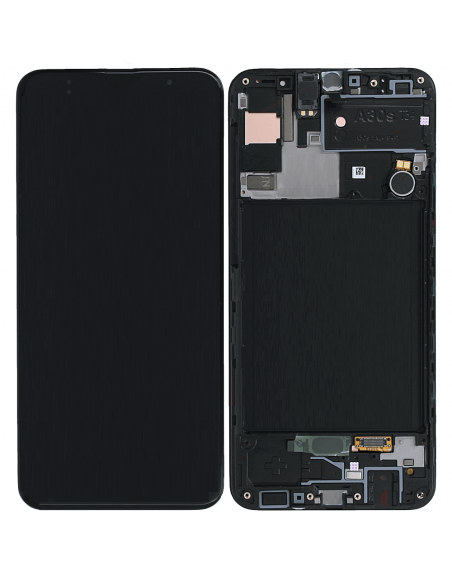Galaxy A30s LCD Screen and Digitizer Assembly - Black - Original GH82-21190A Samsung - 1