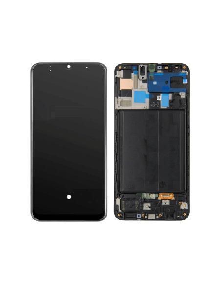Galaxy A50/A50S/A30S LCD Screen Digitizer Assembly with Frame - Black Samsung - 1
