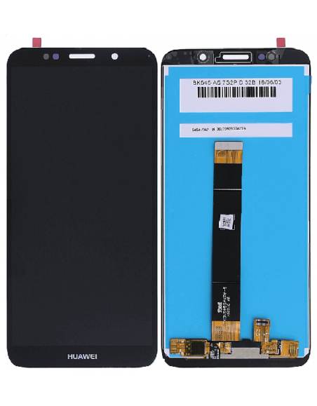 Y5 Lite LCD Screen and Digitizer Assembly - Black Huawei - 1