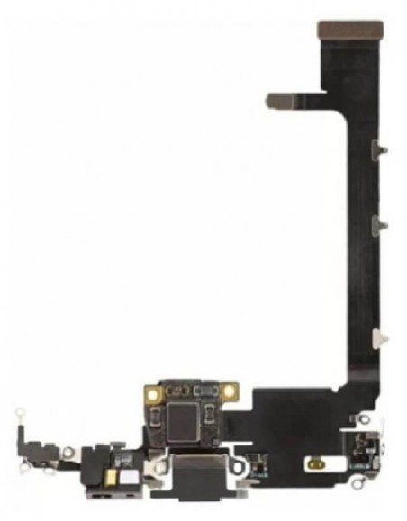 iPhone 11 Pro Max Charging Connector Flex Cable- Black Apple - 2