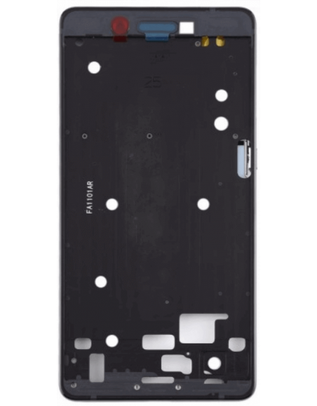 Nokia 7 Front Housing - Black Nokia/Microsoft - 1