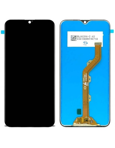 Infinix Smart 4 LCD Screen and Digitizer Assembly - Black Infinix - 1