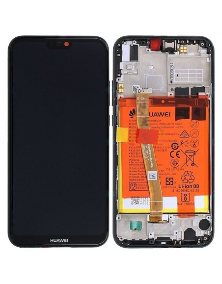 Honor 20 Lite LCD Screen and Digitizer Assembly with Frame - Black Huawei - 1