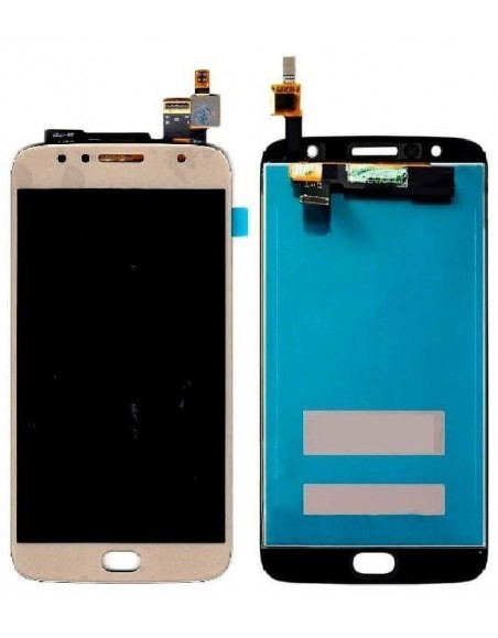 Moto G5s Plus LCD Screen and Digitizer Assembly - Gold