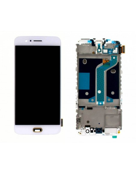 OnePlus 5 LCD Screen and Digitizer Assembly - White OnePlus - 1