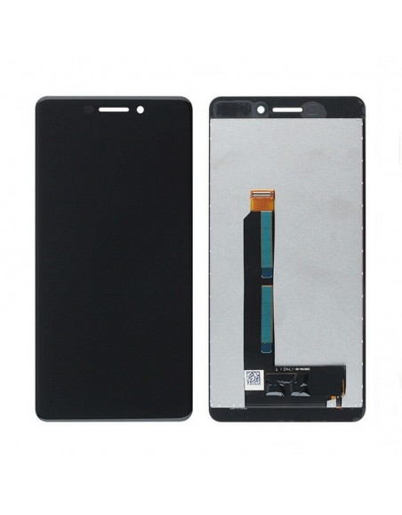 Nokia 6 (2018) LCD Screen and Digitizer Assembly - Black Nokia/Microsoft - 1