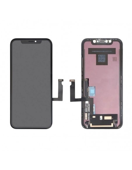 iPhone XR LCD Screen and Digitizer Assembly - Black - OEM Apple - 1