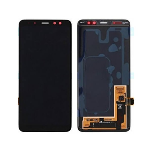 Galaxy A8 2018 SM-A530F LCD Screen and Digitizer Assembly - Black - Original GH97-21406A Samsung - 1