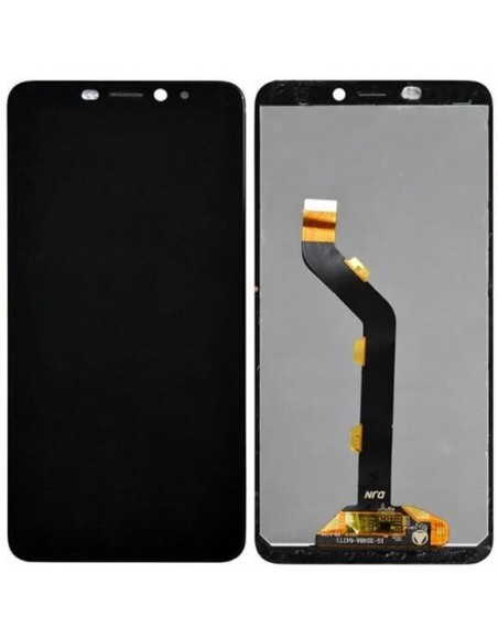 Infinix Hot S3 LCD Screen and Digitizer Assembly - Black Oppo - 1