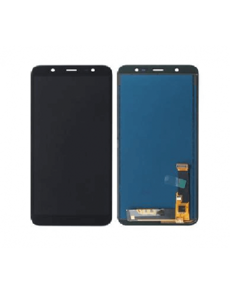 Samsung Galaxy J8 J810F/DS LCD Screen and Digitizer Assembly - Black - O-LED Samsung - 1