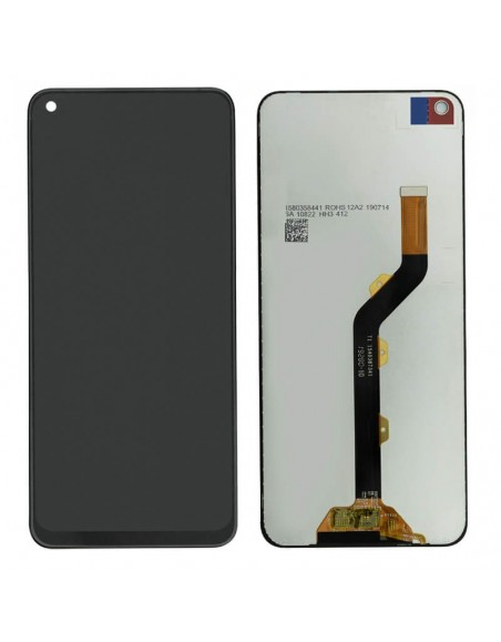 Infinix Hot S5 X653 LCD Screen and Digitizer Assembly - Black Oppo - 1