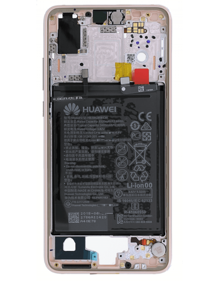 Huawei P20 Middle Frame, Battery - Pink Gold Huawei - 1