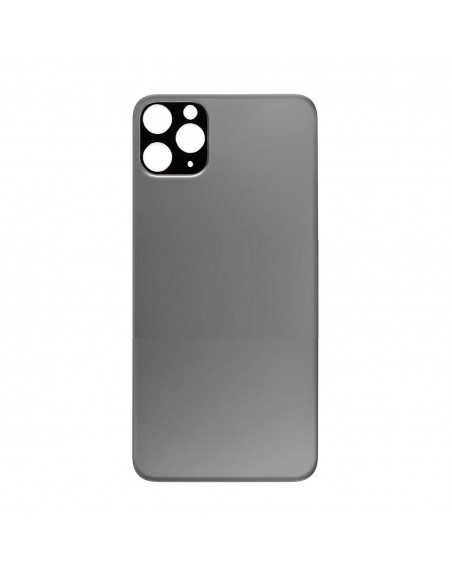 iPhone 11 Pro Max Back Cover - Gray Apple - 1