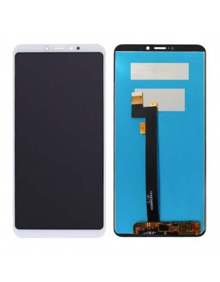 Xiaomi Mi Max 3 LCD Screen and Digitizer Assembly - White Xiaomi  - 1