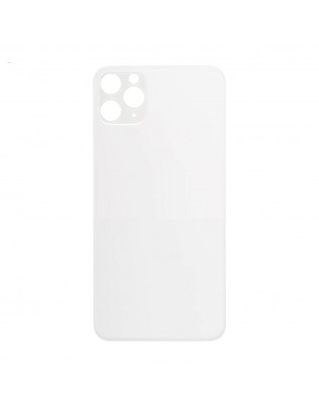 iPhone 11 Pro Back Cover - Silver Apple - 1