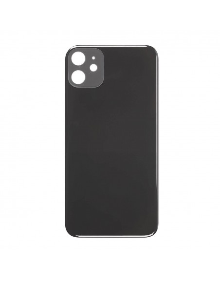 iPhone 11 Back Cover - Black Apple - 1