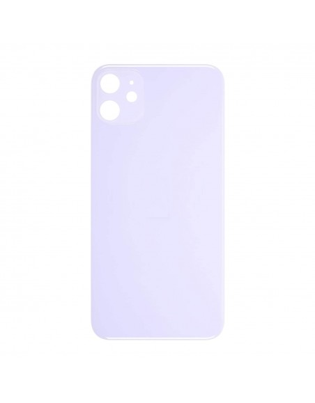 iPhone 11 Back Cover - Purple Apple - 1