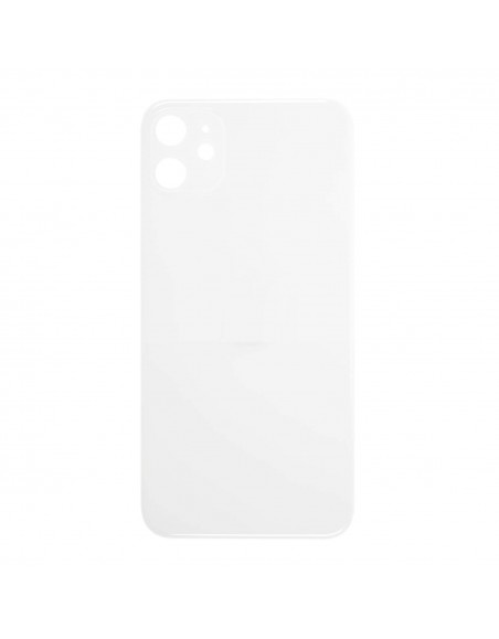 iPhone 11 Back Cover - White Apple - 1