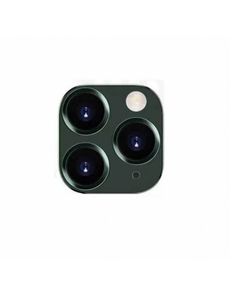 iPhone 11 Pro Max Camera Lens with Fram - Green Apple - 1