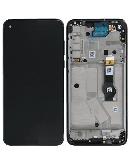 Motorola G8 Power LCD Screen Digitizer Assembly with Frame - Black Motorola - 1