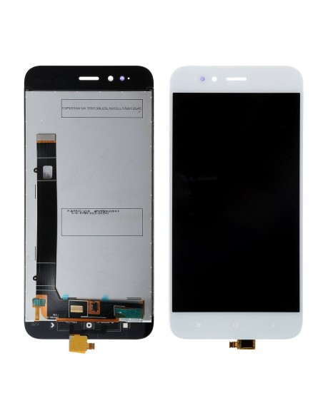 Xiaomi Mi A1 LCD Screen and Digitizer Assembly - White Xiaomi  - 1
