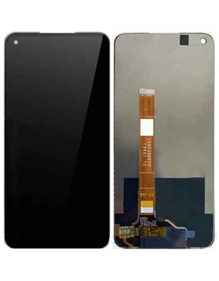 Oppo A92 LCD Screen and Digitizer Assembly - Black Oppo - 1