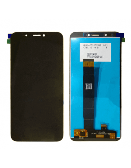 Nokia C1 LCD Screen and Digitizer Assembly - Black Nokia/Microsoft - 1