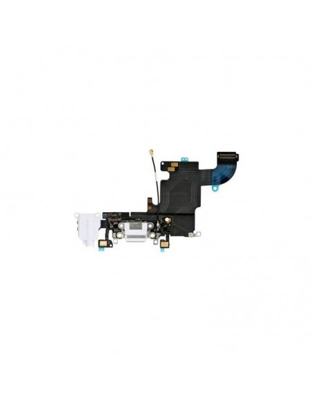 iPhone 6S Jack Audio, Charging Connector Flex Cable - White Apple - 1