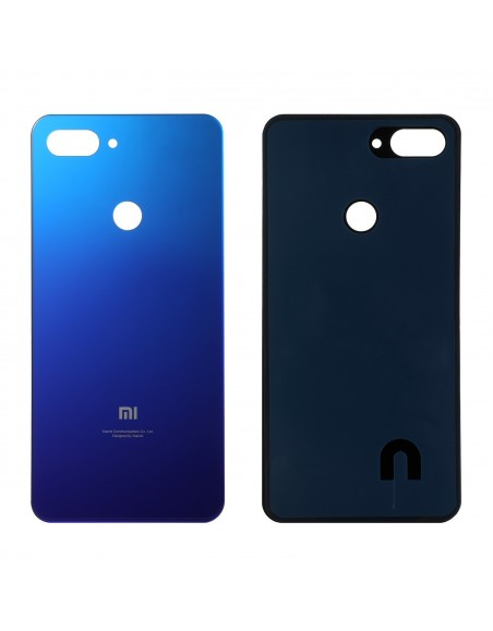 Xiaomi Mi 8 Lite Back Cover - Blue Xiaomi  - 1