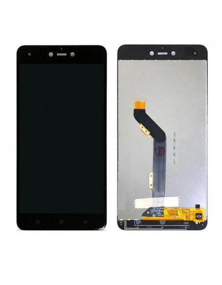 Tecno Pop 3 LCD Screen Digitizer Assembly - Black  - 1
