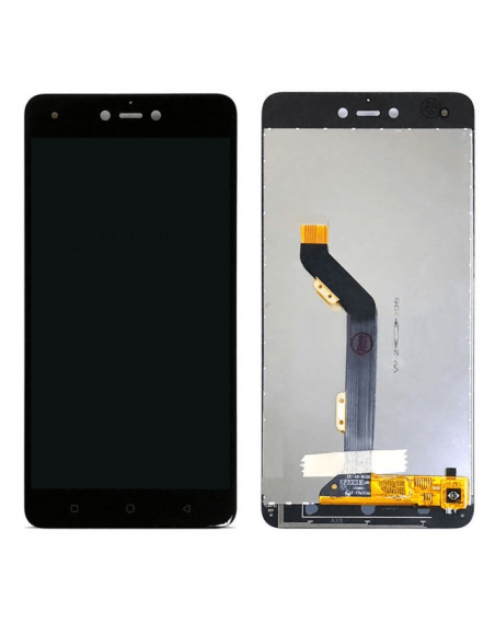 Tecno Phantom 8 LCD Screen Digitizer Assembly - Black  - 1