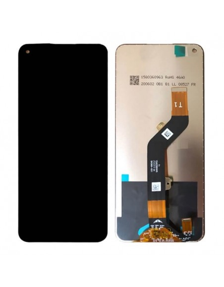 Infinix Note 7 X690 LCD Screen and Digitizer Assembly - Black Oppo - 1