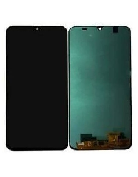 Galaxy A30 SM-A305F/DS LCD Screen Digitizer Assembly - Black - Oled Samsung - 1