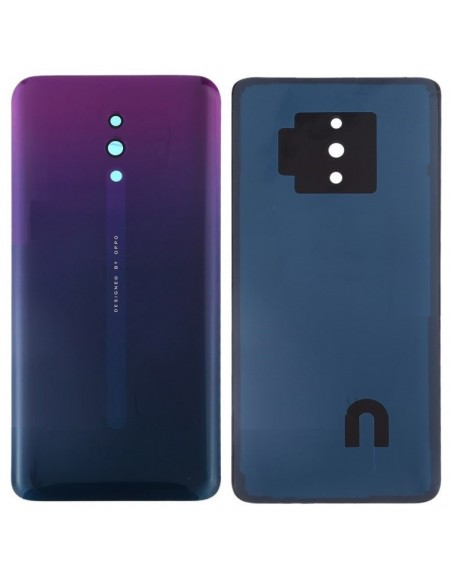 Oppo Reno Back Cover - Purple Oppo - 1