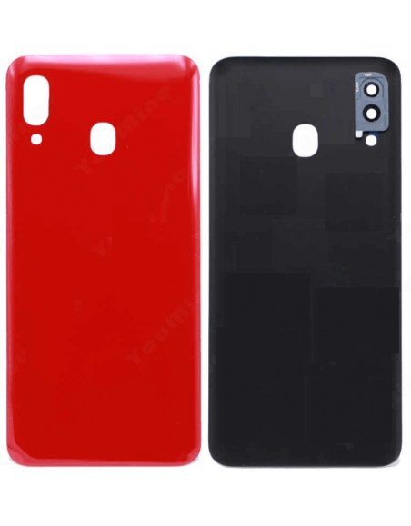 Galaxy A20 SM-A205F/DS Back Cover - Red Samsung - 1