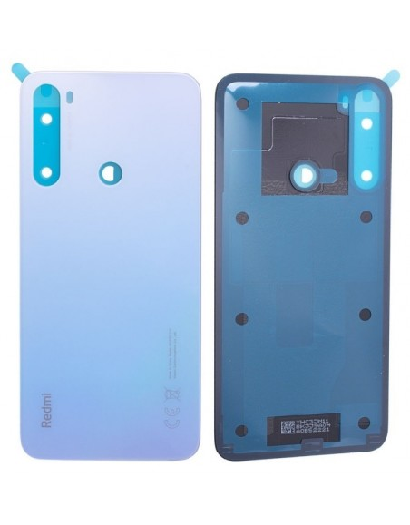 Xiaomi Redmi Note 8 Back Cover - White Xiaomi  - 1