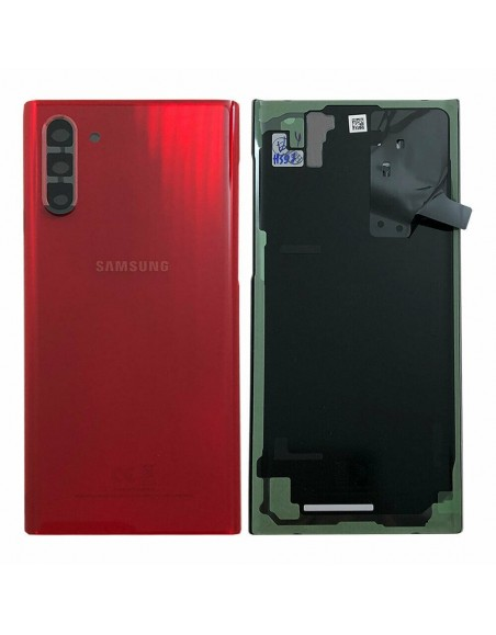 Samsung Galaxy Note 10 Plus SM-N976F Back Cover - Red Samsung - 1