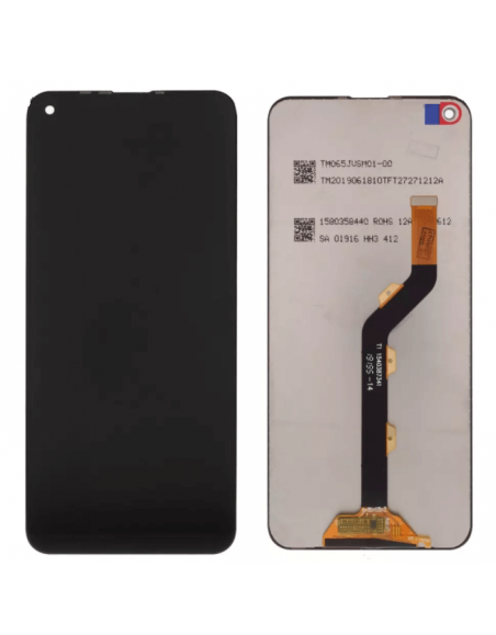 Infinix Hot 10 LCD Screen and Digitizer Assembly - Black Infinix - 1