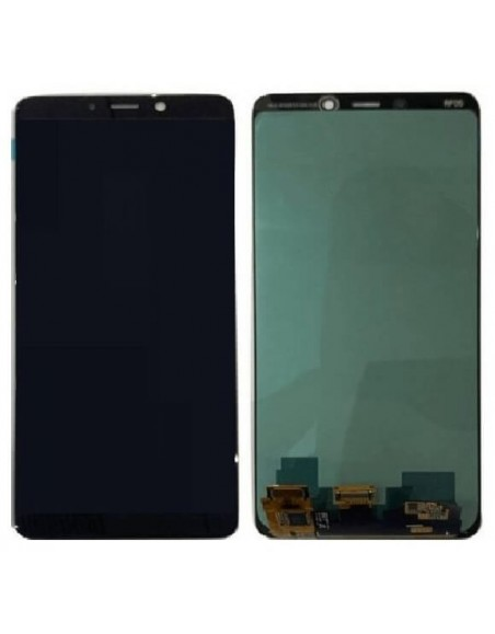 Galaxy A9 2018 LCD Screen Digitizer Assembly - Black - OLED Samsung - 1