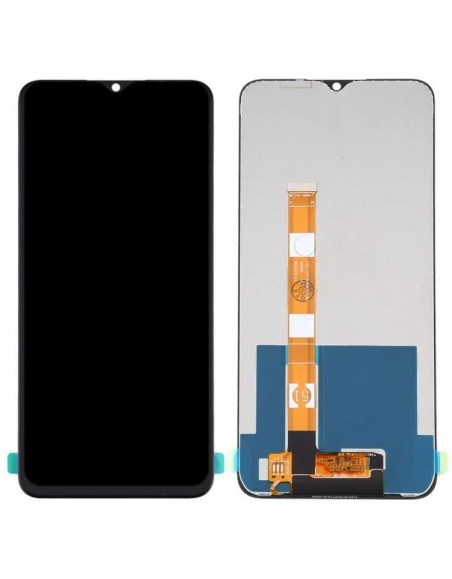 Realme C11 LCD Screen and Digitizer Assembly - Black  - 1