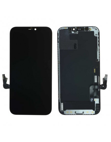 iPhone 12/12 Pro LCD Screen and Digitizer Assembly OEM - Black Apple - 1