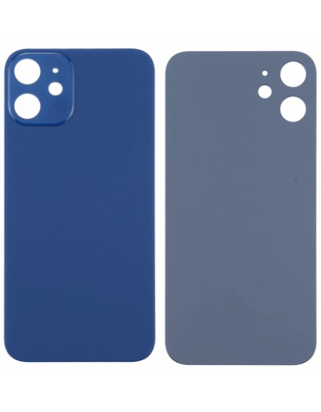iPhone 12 Back Cover - Blue Apple - 1
