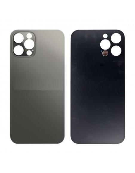 iPhone 12 Pro Back Cover - Black Apple - 1