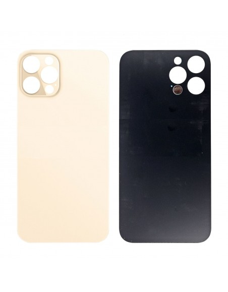 iPhone 12 Pro Back Cover - Gold Apple - 1