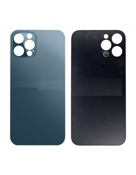 iPhone 12 Pro Back Cover - Blue Apple - 1