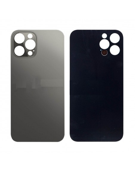 iPhone 12 Pro Max Back Cover - Black Apple - 1