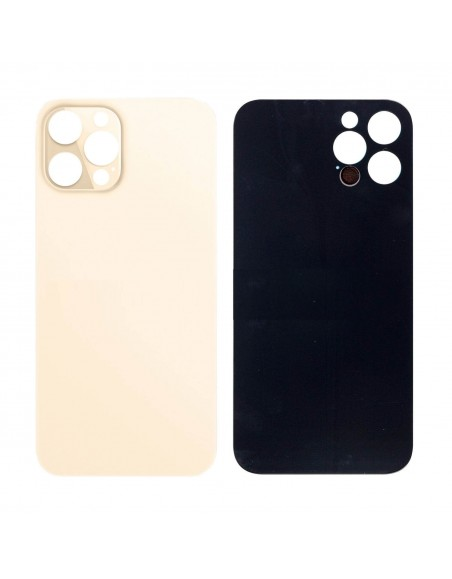 iPhone 12 Pro Max Back Cover - Gold Apple - 1