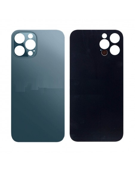 iPhone 12 Pro Max Back Cover - Blue Apple - 1